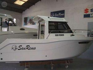 barcos cabinados para titulin