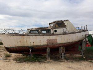barcos de madera para restaurar