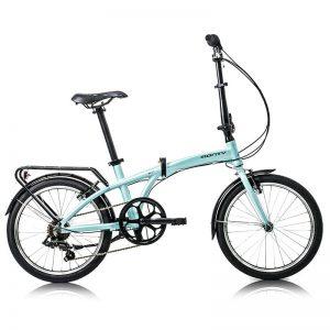 bici plegable monty