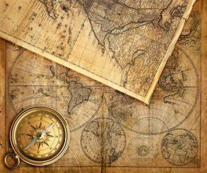 cartas de navegacion antiguas