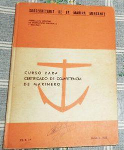 certificado de competencia marinera
