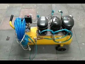 compresor con motor de nevera