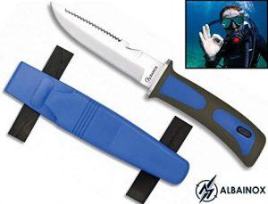 cuchillo submarinismo prohibido