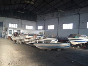 desguace de barcos de recreo