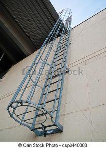 escalera emergencia