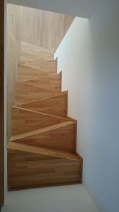 escalera tipo samba
