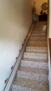 escaleras estrechas