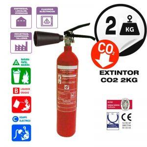 extintor para apagar fuego electrico