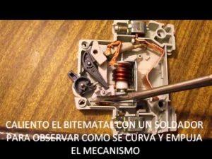 funcionamiento de un magnetotermico