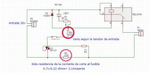 fusible electronico rearmable
