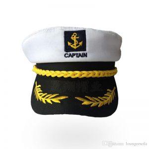 gorra capitan barco