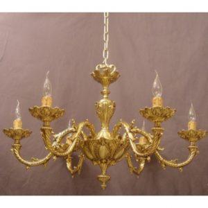 lamparas de bronce
