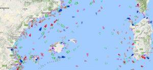 localizador de barcos pesqueros
