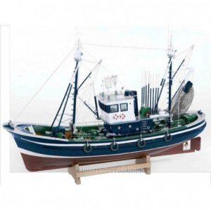 maquetas de barcos pesqueros