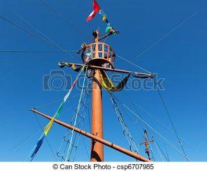 mastil de un barco