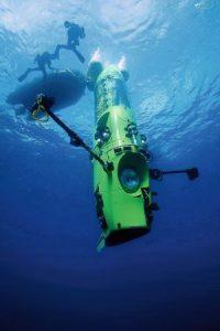 maxima profundidad submarino