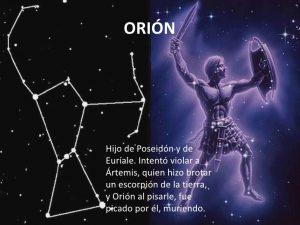 mitologia de las constelaciones