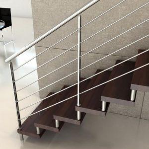pasamanos acero inoxidable para escaleras
