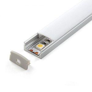 perfil aluminio led