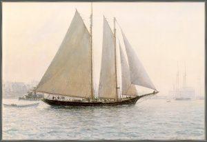 pinturas de barcos