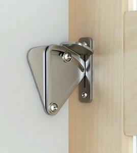 puerta corredera con cerradura