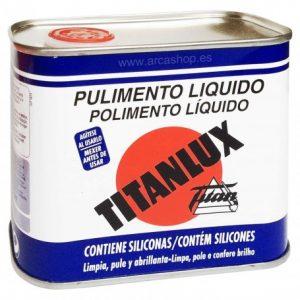 pulimento titanlux sin silicona