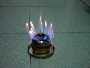 quemador de alcohol