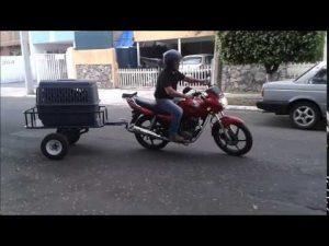 remolque moto usado