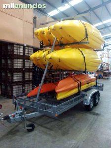 remolque para kayak