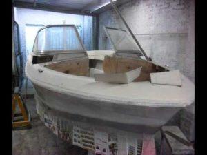reparar fibra de vidrio barco