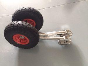 ruedas de botadura para neumaticas