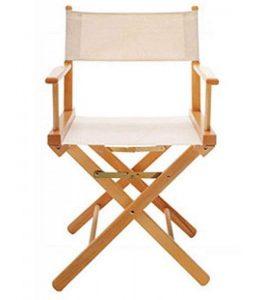 sillas de director plegables