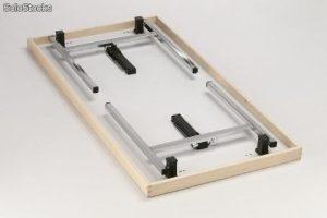 sistemas de patas plegables para mesas