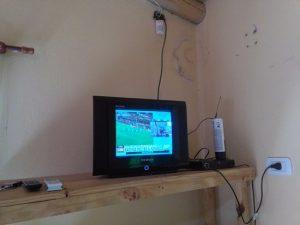 televisor pequeno