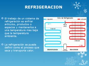 temperatura de refrigeracion